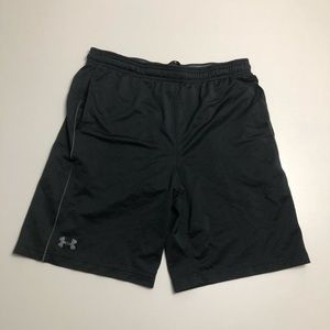 Under Armour Loose Fit Athletic Shorts Black Large